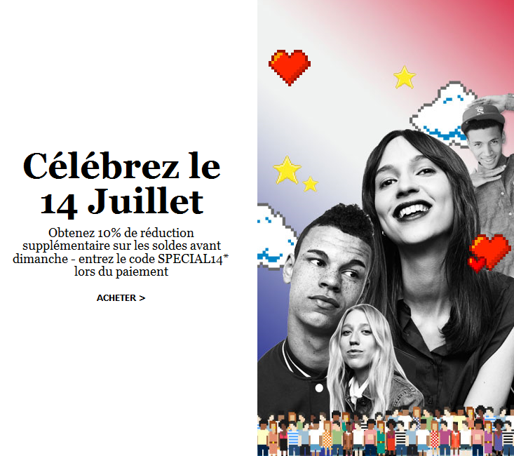 Bons plans du 14 juillet