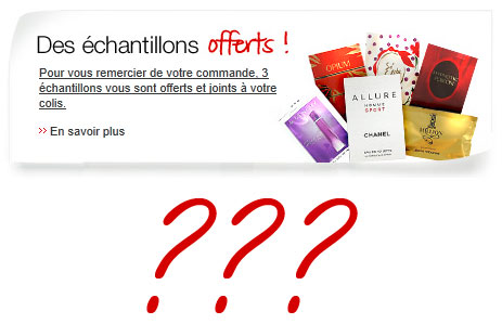 A la recherche des chantillons perdus chez Sephora