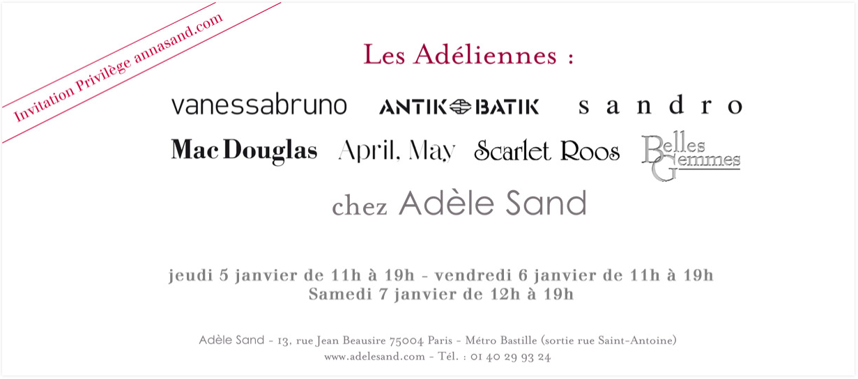 Les Adliennes Adle Sand &#8211; Hiver 2011