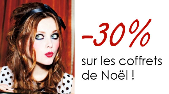 -30% sur les coffrets de Nol chez Sephora