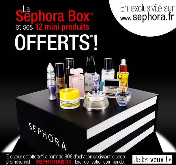 La Surprise Box de Sephora ?