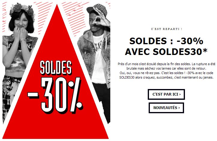 Retour des soldes chez Asos &#8211; Printemps 2013