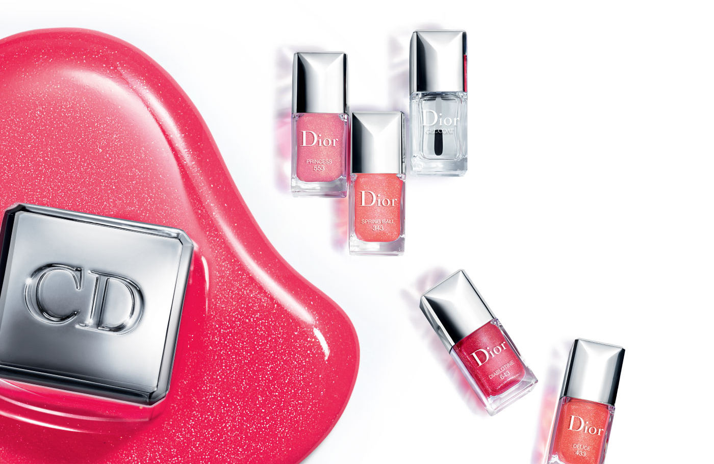 Un mini vernis Dior offert !